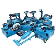 Makita 13BMJ 18v Li-ion 4.0Ah Cordless 13 Piece Kit