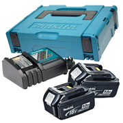 Makita POWER5 (240v) Makita 18v 5.0Ah Power Pack (240v Charger)
