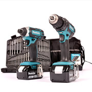 Makita 2KITRJ Makita 18v Li-ion Cordless 2 Piece Kit