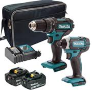 Makita 2SET RT Makita 18v Li-ion 2 Piece Kit - 1 x 5.0Ah + 1 x 3.0Ah Battery
