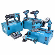 Makita 6JTJ Makita 18v Li-ion 5.0Ah 6 Piece Kit