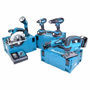 Makita 6MMJ Makita 18v Li-ion 4.0Ah 6 Piece Kit