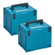 Makita 8215526PK2 Makita 8215526PK2 X-Large MakPac Stackable Case Twinpack (396 x 296 315mm)