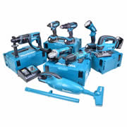 Makita 8DMJ Makita 18v Li-ion 4.0Ah 8 Piece Kit