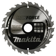 Makita B-08377 Makita MakForce Saw Blade 210mm x 30mm 24T