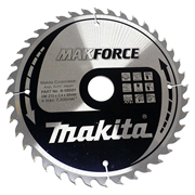 Makita B-08501 Makita 210mm 40 Tooth 'MAKFORCE' TCT Circular Saw Blade
