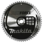 Makita B-08551 Makita 190mm 60 Tooth 'MAKFORCE' TCT Circular Saw Blade