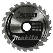 Makita B-09167 165mm 24 Tooth Blade