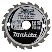 Makita B09204 Makita 85mm Wood Cutting Blade for HS300