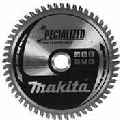 Makita B-09307 Makita 165mm 56 Tooth Aluminium Cutting Saw Blade for SP6000