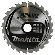 Makita B-09391 Makita Specialized Tip Embedded Saw Blade 165mm x 20mm 24T
