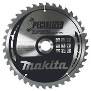 Makita B-09472 Makita Specialized Tip Embedded Saw Blade 165mm x 20mm 40T