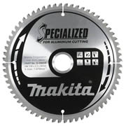 Makita B-09612 Makita Aluminium 190mm 60 Tooth Circular Saw Blade