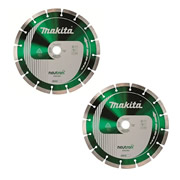 Makita B12918 Makita 125mm Neutron Enduro Universal Diamond Blade Twinpack