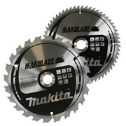 Makita B190PK2 Makita 190mm 60 & 24 Tooth Saw Blade Pack