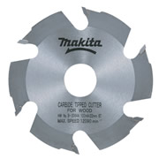 Makita MAK7933824 Makita 100mm 6 Tooth TCT Saw Blade (For Biscuit Jointers)