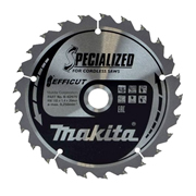Makita B-62979 Makita Efficut Saw Blade 165mm x 20mm 25T
