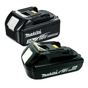 Makita BATPAK1 18v LXT Li-ion Battery Bundle 1 x 2Ah + 1 x 3Ah