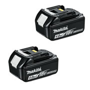 Makita BL1840BPK2 Makita BL1840BPK2 18V Li-ion 4.0ah Battery with Indicator - Pack of 2