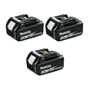 Makita BL1840BPK3 18v Li-ion 4.0ah Battery with Indicator - Pack of 3