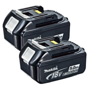 Makita BL1850PK2 Makita 18v 5.0Ah Lithium-ion Battery - Pack of 2