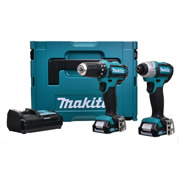 Makita CLX202AJ Makita 10.8v CXT Cordless Li-ion 2 Piece Kit