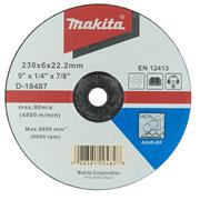 Makita D18487 230mm (9'') Metal Grinding Disc
