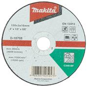 "Makita D-18708 Makita 100mm (4"") Masonry Cutting Disc"