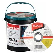 Makita  100 Piece 115mm Thin Cutting Disc Tub