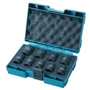 Makita D-41517 9 Piece Impact Socket Set 1/2'' SQ
