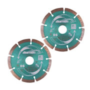 Makita D-61123 115mm Diamak Diamond Blade - Pack of 2