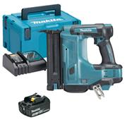 Makita DBN500RJX 18v LXT Second Fix Finishing Brad Nail Gun with 1 x 3Ah Battery, Charger and Case