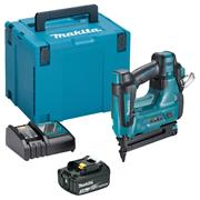 Makita JDBN500RTJ 18v LXT Second Fix Finishing 18Ga Brad Nail Gun with 1 x 3Ah Battery, Charger and Case