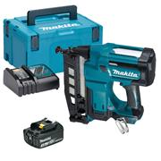 Makita DBN600RJX 18v LXT Second Fix Finishing Nail Gun with 1 x 3Ah Battery, Charger and Case