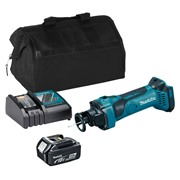 Makita DCO180ITS 18v LXT Drywall Cutter with 1 x 3Ah Battery, Charger and Bag