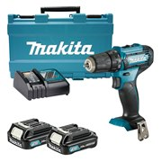 Makita DF333DWAE 12v CXT Drill Driver with 2 x 2Ah Batteries, Charger and Case