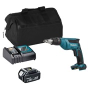Makita DFS451ITS Makita DFS451ITS 18V LXT Drywall Screwdriver with 1 x 3Ah Battery, Charger and Bag