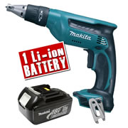 Makita DFS451Z3 Makita 18v li-ion Drywall Screwdriver Body + 1 x 3.0Ah Battery