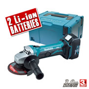 Makita DGA452RFE Makita 18v LXT Li-ion Cordless Grinder 115mm