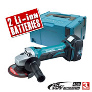 Makita DGA452RME Makita 18v LXT Li-ion Cordless Grinder 115mm