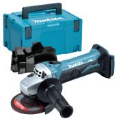 Makita DGA452ZSC 18v Li-ion Grinder 115mm - Body + Case