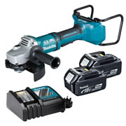 Makita DGA700ZKIT5 36v Li-ion Brushless 180mm Grinder Kit