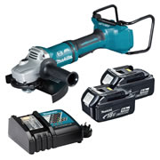 Makita DGA900ZKIT5 36v Li-ion Brushless 230mm Grinder Kit