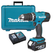 Makita DHP453RF 18v Li-ion 2 Speed Combi Drill