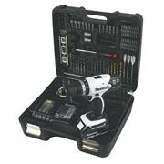 Makita DHP453SMWX Makita 18v LXT Combi Drill with 1 x 4Ah Battery, Charger, Case and Drill Bit Set