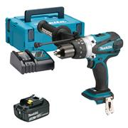 Makita DHP458MP 18v LXT Combi Drill with 1 x 3Ah Battery, Charger and Case