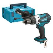 Makita DHP458ZJ 18v LXT Combi Drill - Body with Case