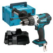 Makita DHP458ZSC 18v Li-ion Combi Drill Body + Case