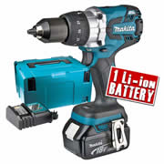 Makita DHP481RTJX 18v Li-ion Brushless Combi Drill