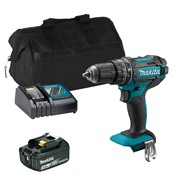Makita DHP482 18V LXT Combi Drill with 1x 3Ah Battery, Charger and Bag